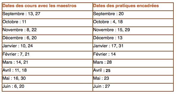 Dates-cours-maestros 1