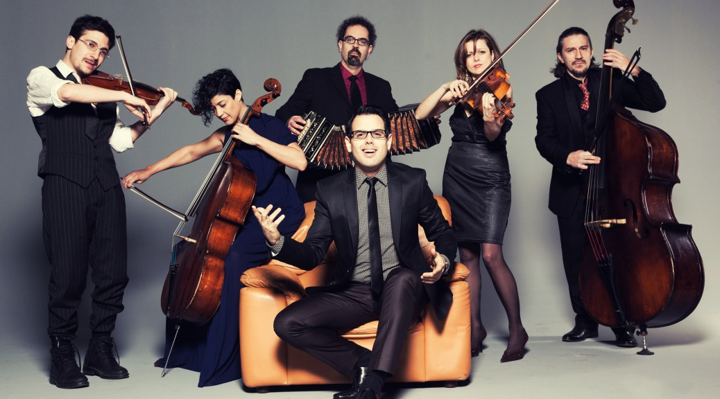 Tango Spleen Orquesta Official Photo 2014