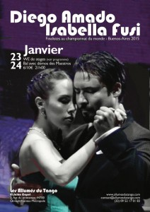 Diego Amado et Isabella Fusi 2 N & Bl  reduite