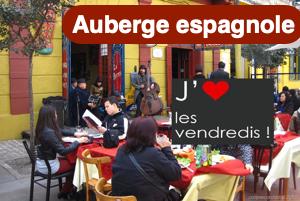 Bannière vendredi auberge espagnole