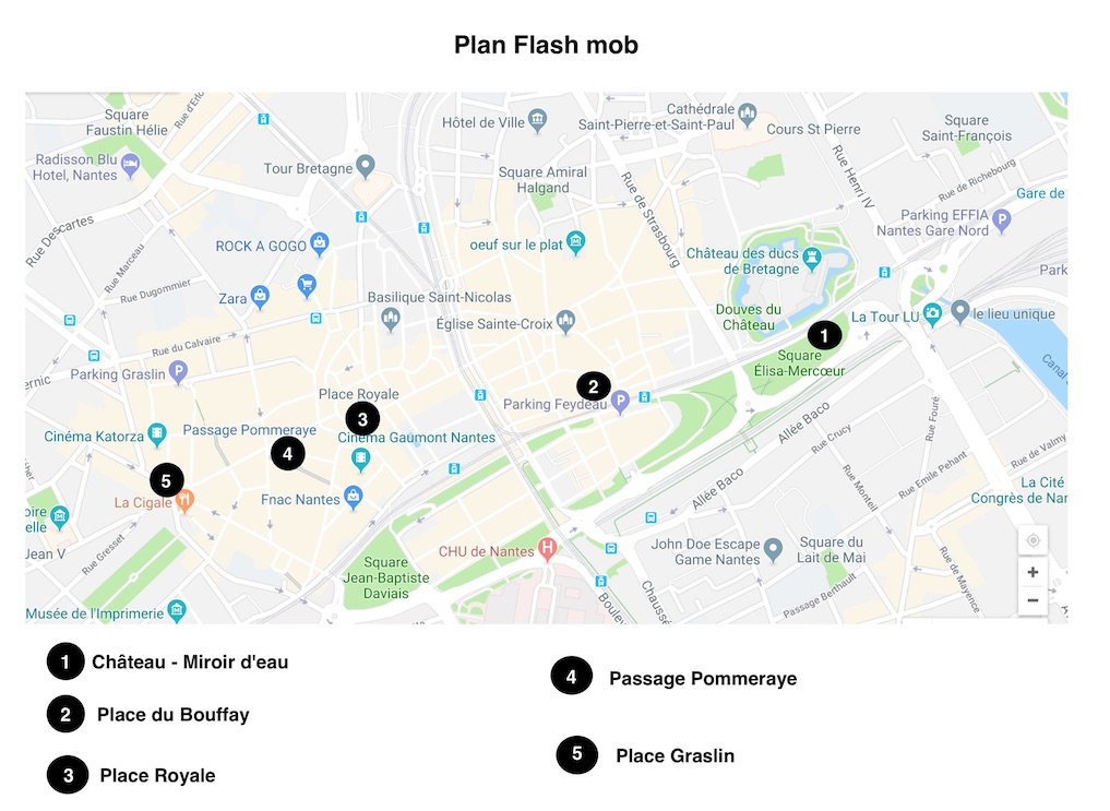 Plan Flash mob2