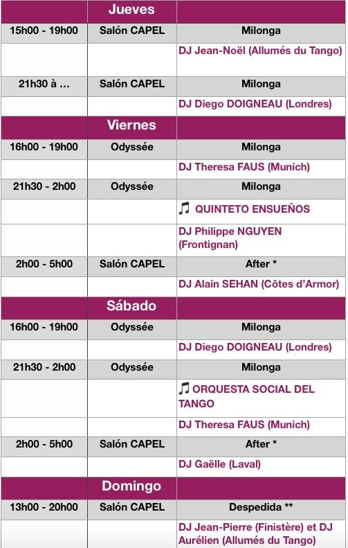 Programme NA2019 i - Espagnol