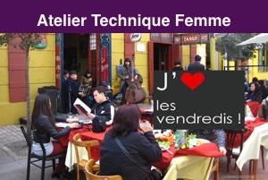ATELIER Technique Femme – LES PIVOTS – Vendredi 24 janvier