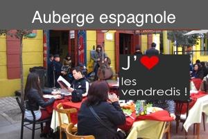 Milonga avec Auberge espagnole – Vendredi 25 octobre