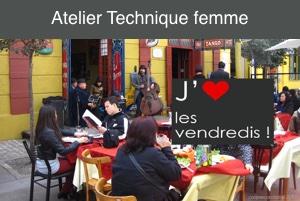 ATELIER Technique Femme – Vendredi 6 décembre